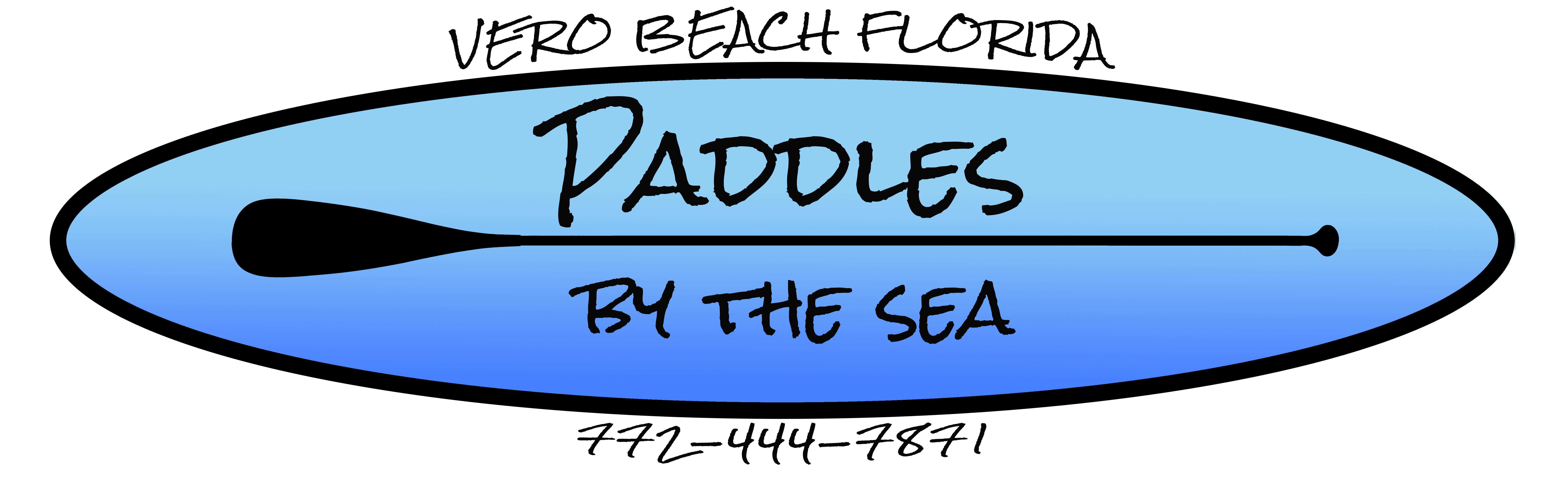 Paddles By The Sea