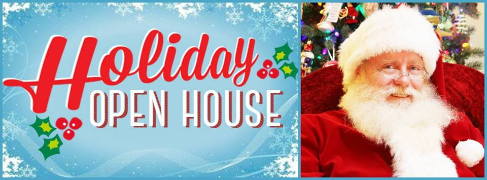 Holiday Open House With Santa