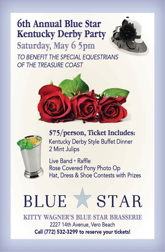 Blue Star Kentucky Derby Party