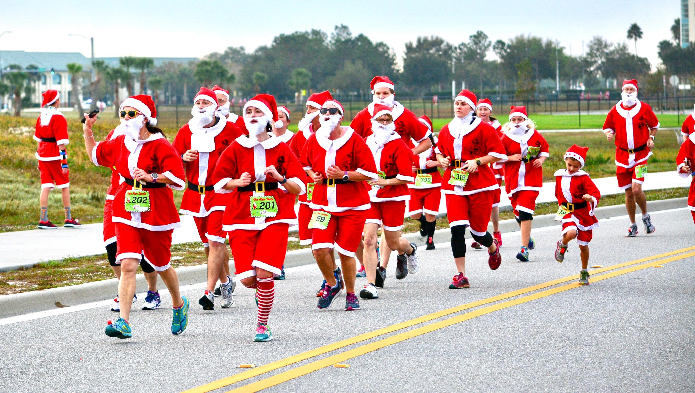 Run Run Santa 1 Mile - Vero Beach