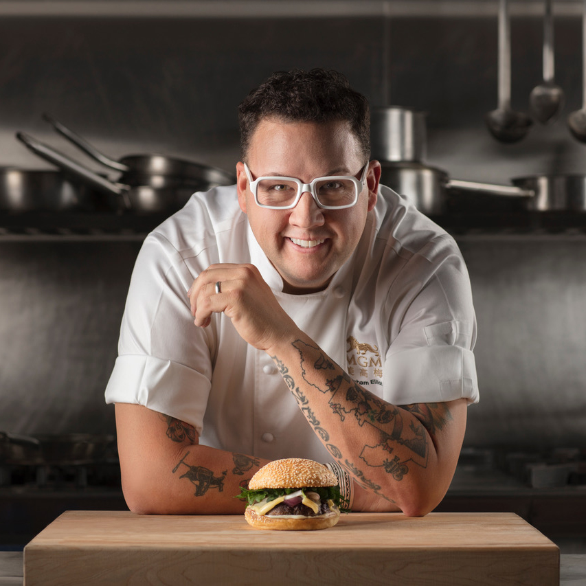 Celeb Chef Graham Elliot