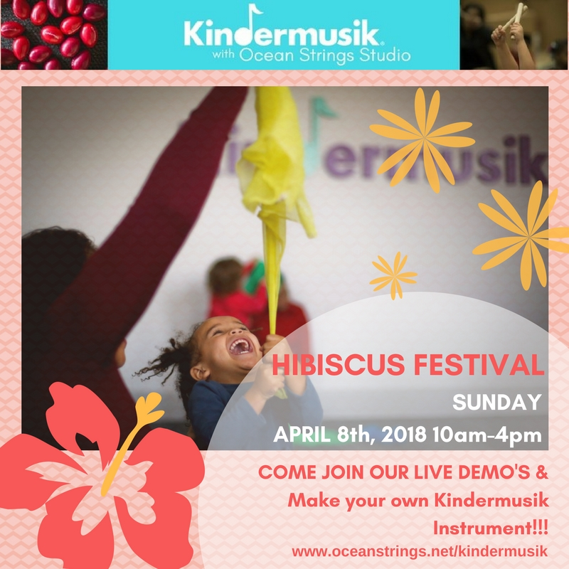 Kindermusik At Hibiscus Festival!