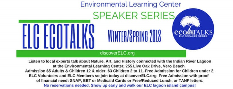 Elc Ecotalks Speaker Series: Dolphin Rescue On The Indian River Lagoon This Year
