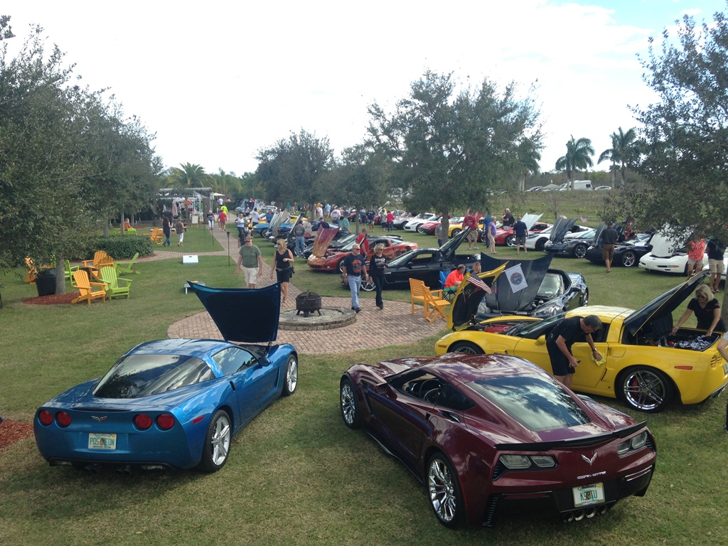 Vettes In The Vines And Collins & Company Band