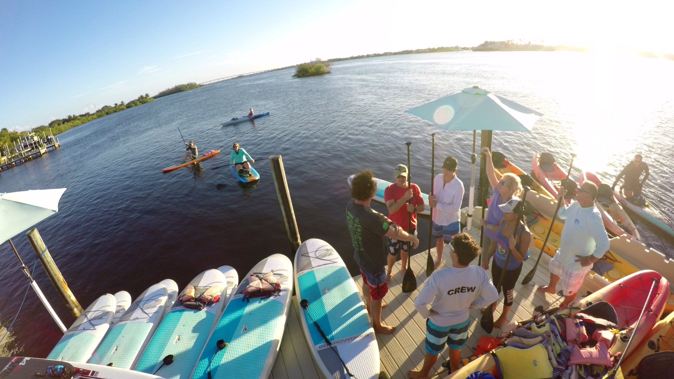 First Timers Paddle Board Lesson and Tour 2