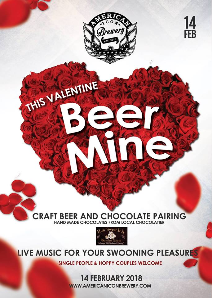 Valentines Beer and Chocolate Pairing