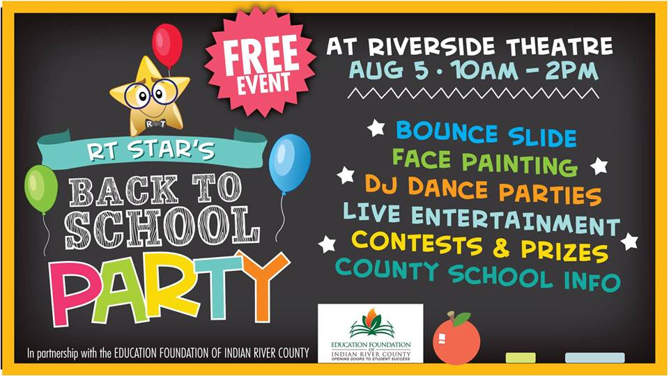 Free Kids Event: Back To School Party!
