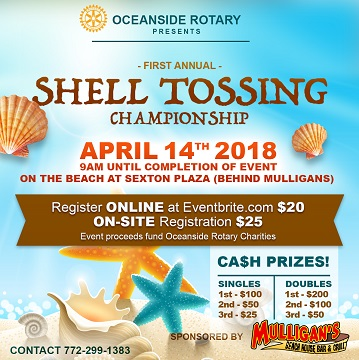 Shell Tossing Championship
