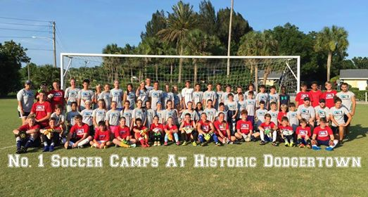 No. 1 Soccer Camps At Historic Dodgertown