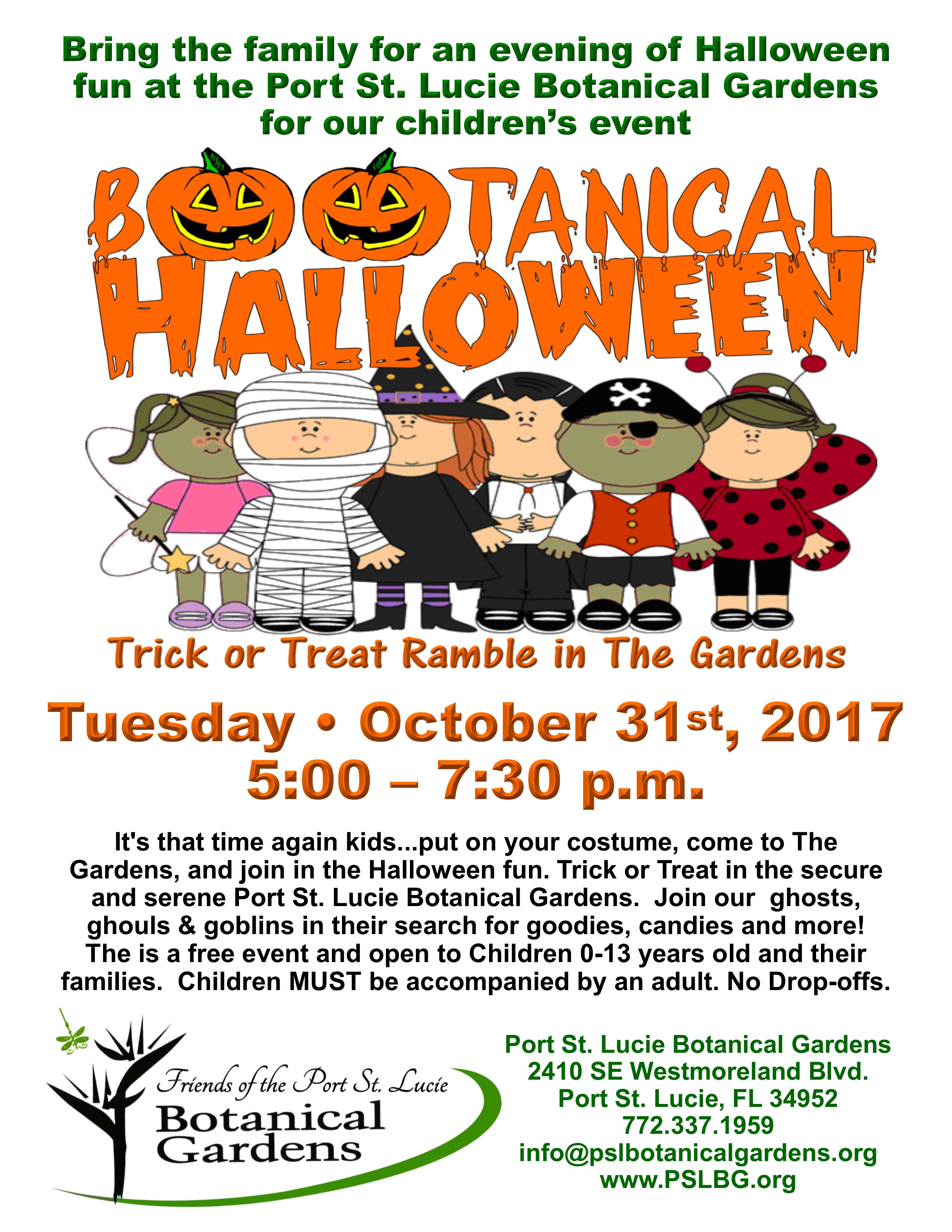 BOOtanical Halloween   Trick Or Treat Ramble In The Gardens