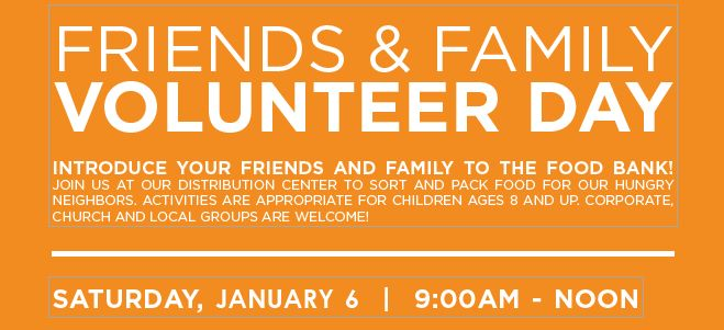 Friends & Family Volunteer Day