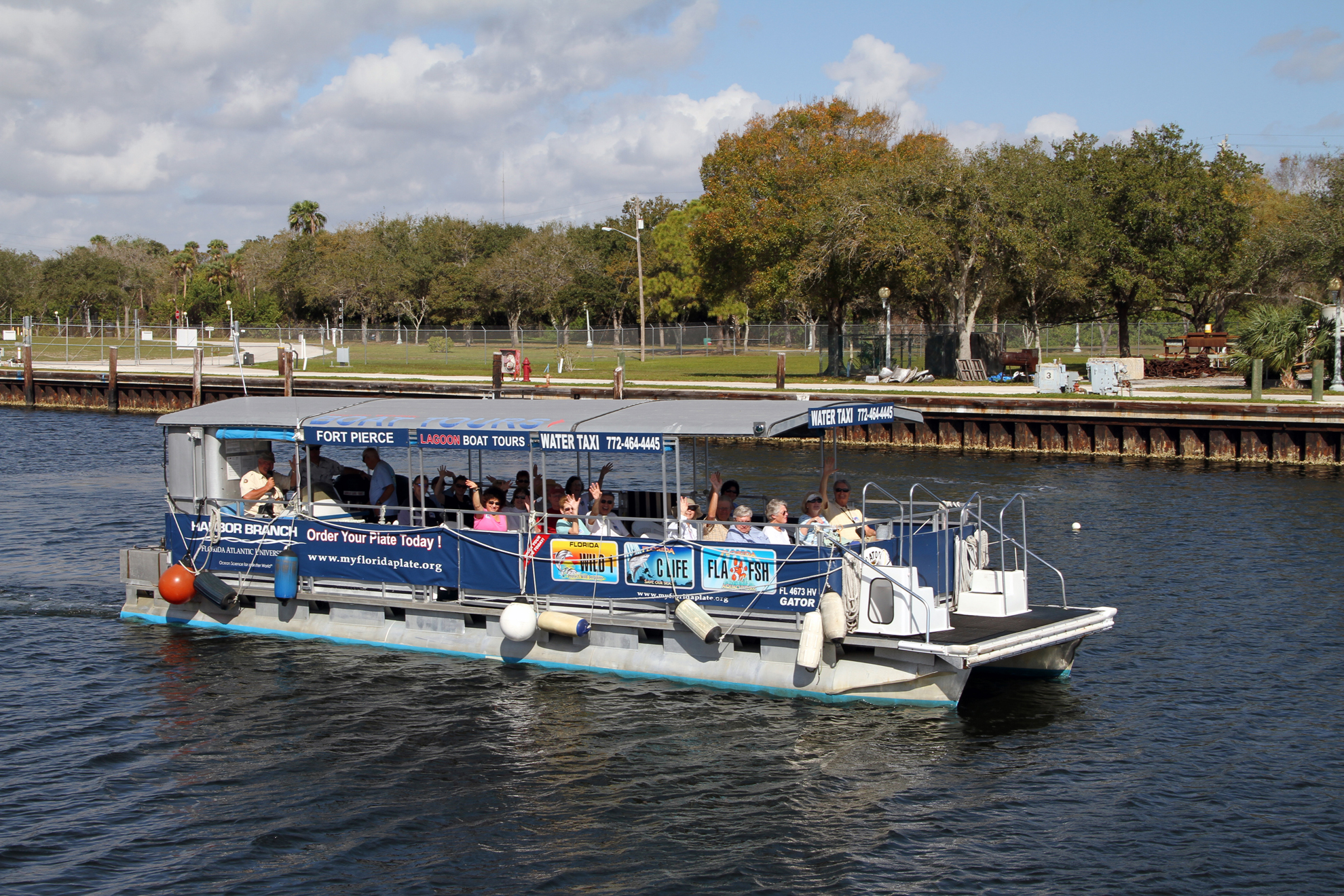 FAU Harbor Branch Indian River Lagoon Boat Tour 2