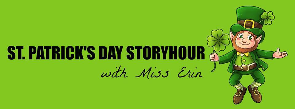 St. Patrick's Day Storyhour With Miss Erin