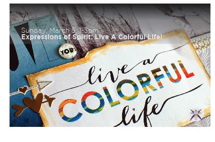 Expressions Of Spirit: Live A Colorful Life!