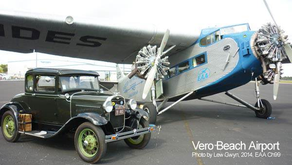 Vero motor claims for Ford tri motor crash