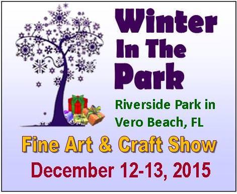 Winter in the park fine art craft show vero beach for Crafts and stuff vero beach