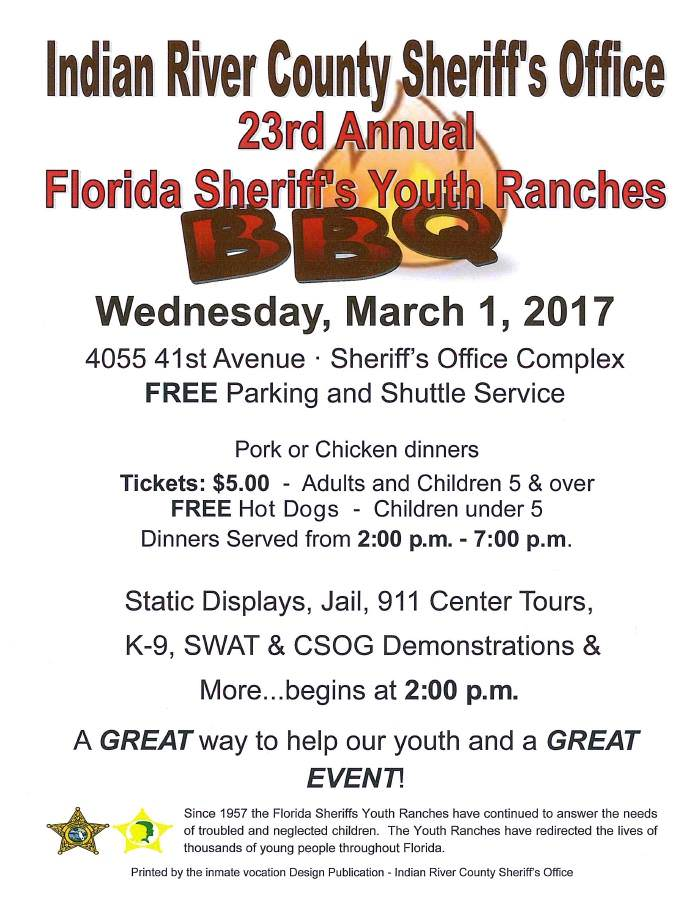 Florida Sheriff's Youth Ranches Bbq