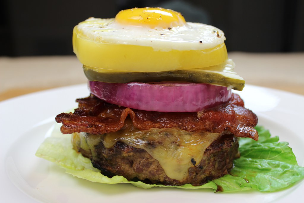 Epic Bun-less Burger