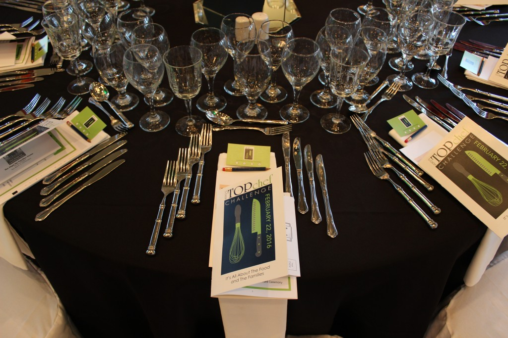 Top Chef Finals Place Settings