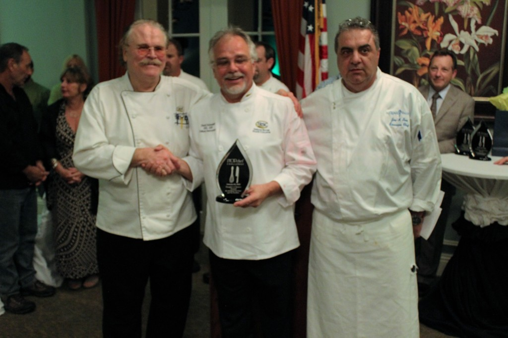 Winner of the Judges Choice Award and the People's Choice Award was Chef David Schneider from the Indian River State College