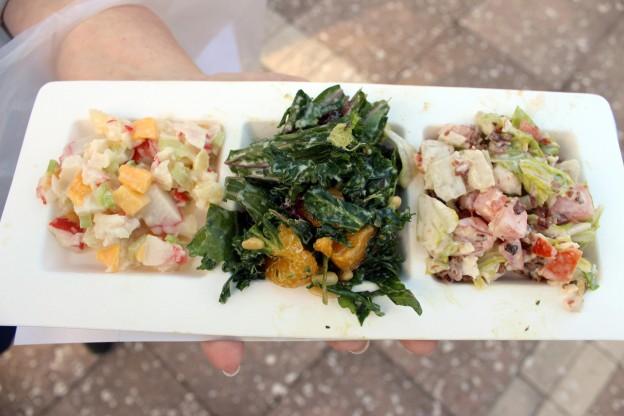 Compound Salad Trio