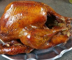 Pecan Smoked Turkey