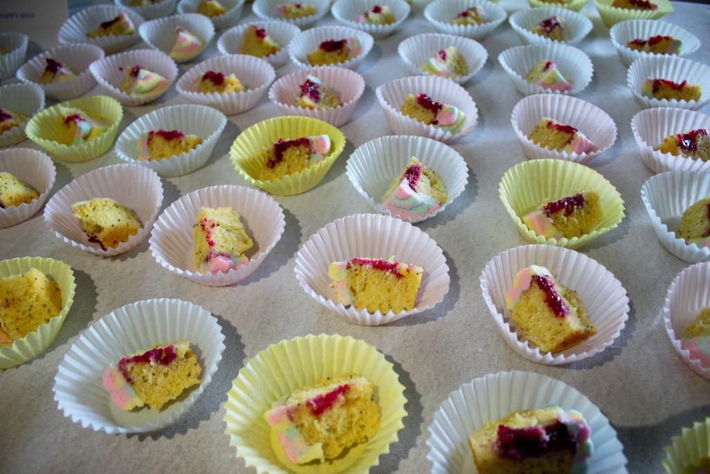 Raspberry Filled Lemon Poppy Seed