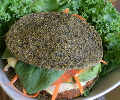 Raw Vegan Walnut Burger