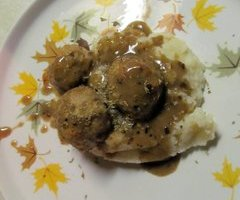 Turkey Apple Meatballs