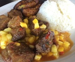 Fried Pork & Pineapple