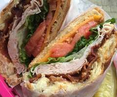 Turkey & Bacon Sandwhich