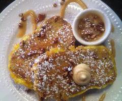 Zucchini Pumpkin Bread French Toast