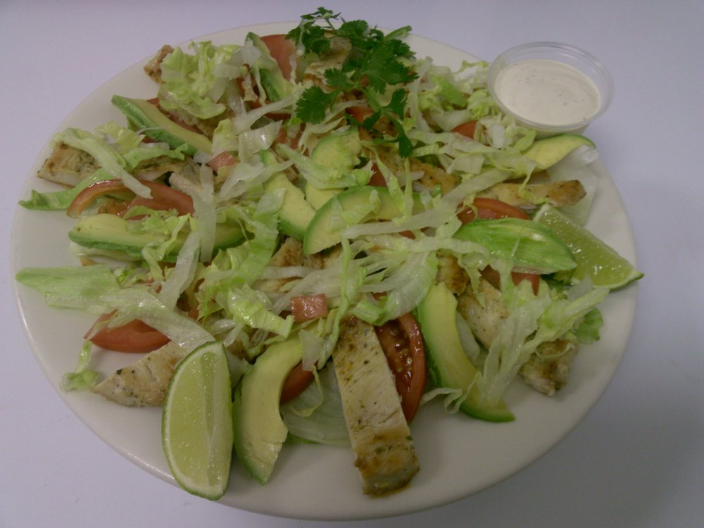 Chicken & Avo Salad
