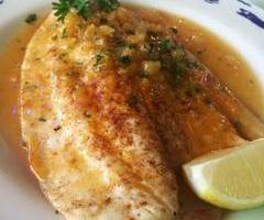 Pompano with Apricot Sauce