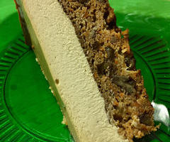 Doubledecker Carrot Cake Cheese Cake