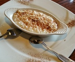 Toasted Coconut Rice Pudding