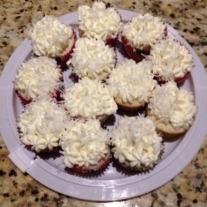 Coconut Cream Pie Cupcakes with Coconut Mousse Filling