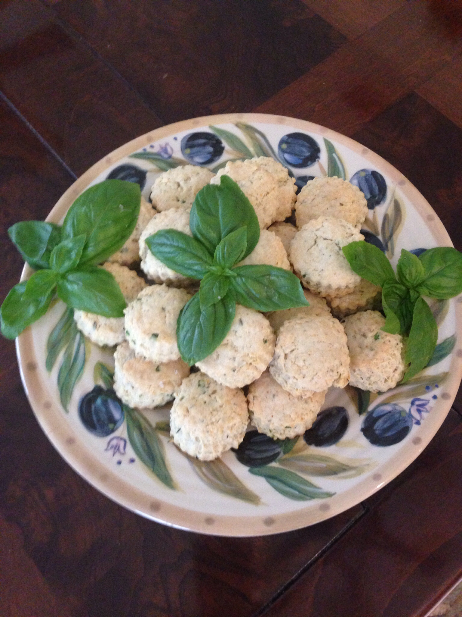 Mini Herb Parmesan Scones