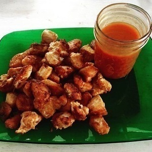 Clean Chick-Fil-A Chicken Nuggets and Polynesian Sauce