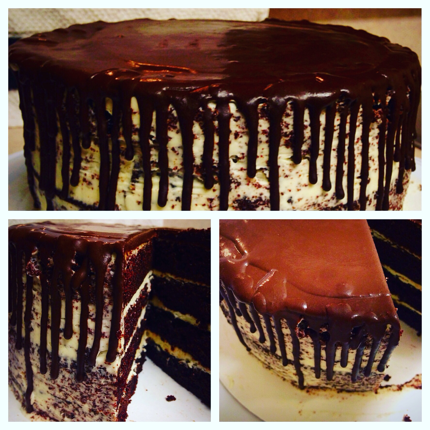 Chocolate Rain Cake - Make a Plate Photo Contest