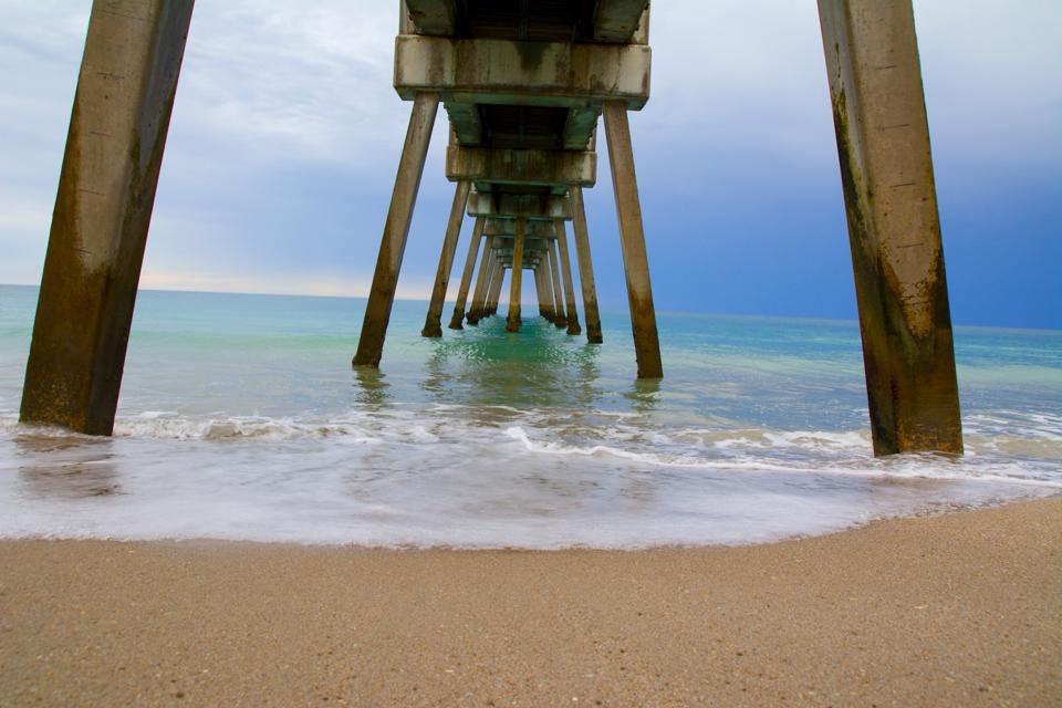 Vero Beach Pier By Nicki Genoni